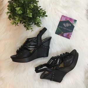 Gianni Bini High Heel Wedge Shoes
